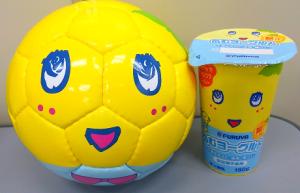 ふなっしー×フルヤ乳業オリジナルサッカーボール